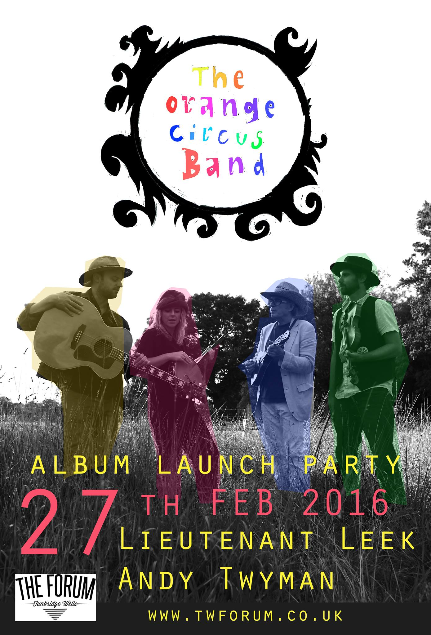 The Orange Circus Band : Album Launch Party
