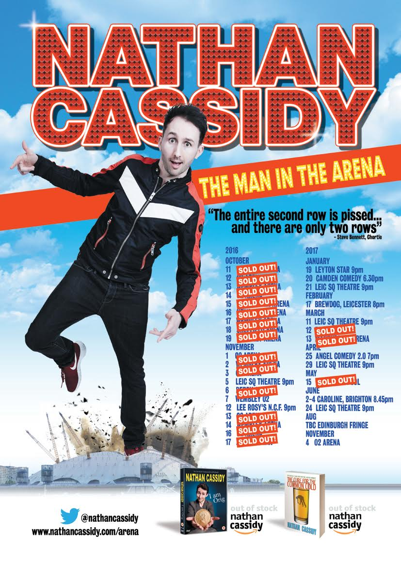 NATHAN CASSIDY: THE MAN IN THE ARENA