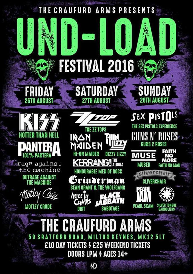 Und-load 2k16 Saturday Day Ticket