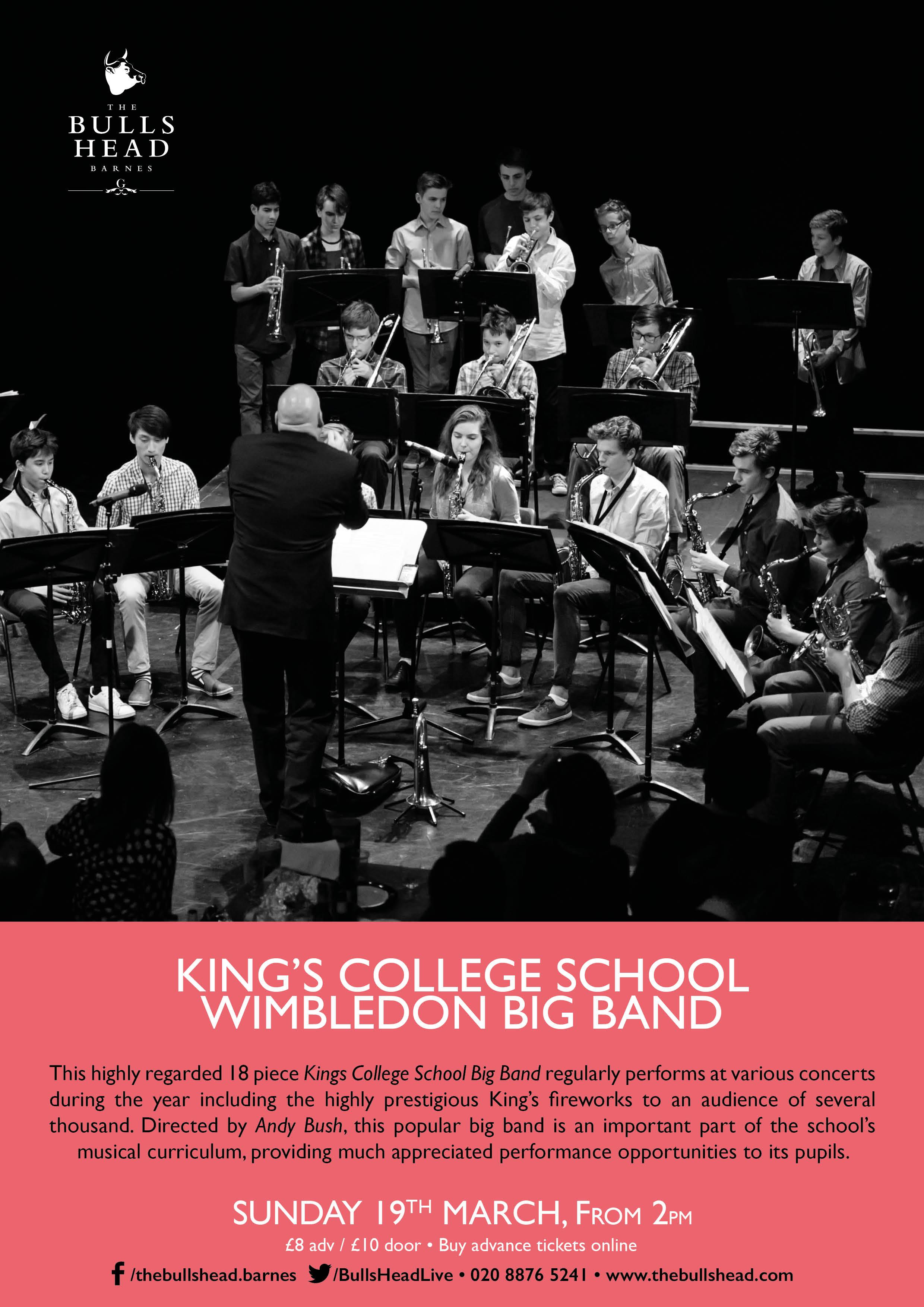 Kings College School Wimbledon Big Band