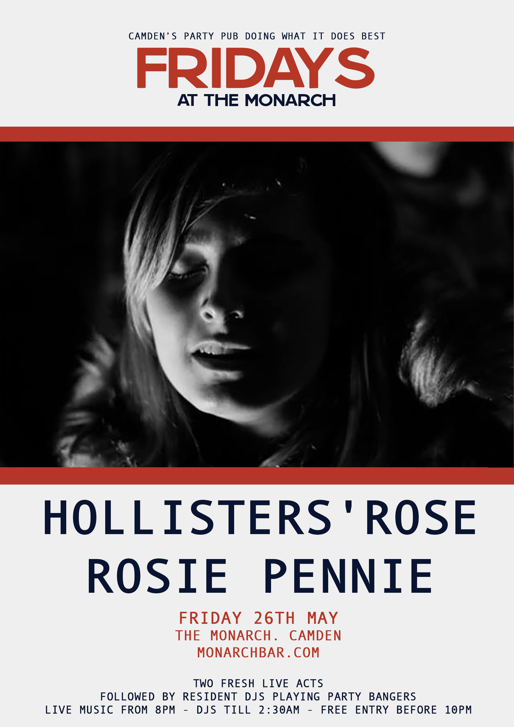 HOLLISTERS ROSE