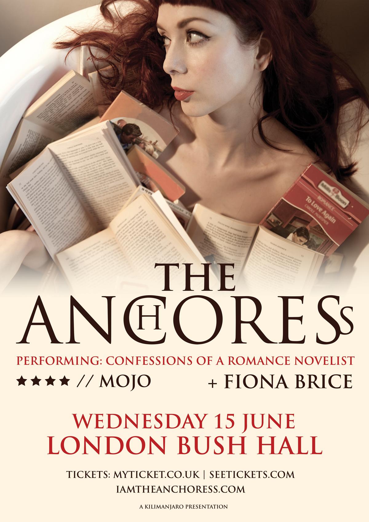 THE ANCHORESS + Fiona Brice