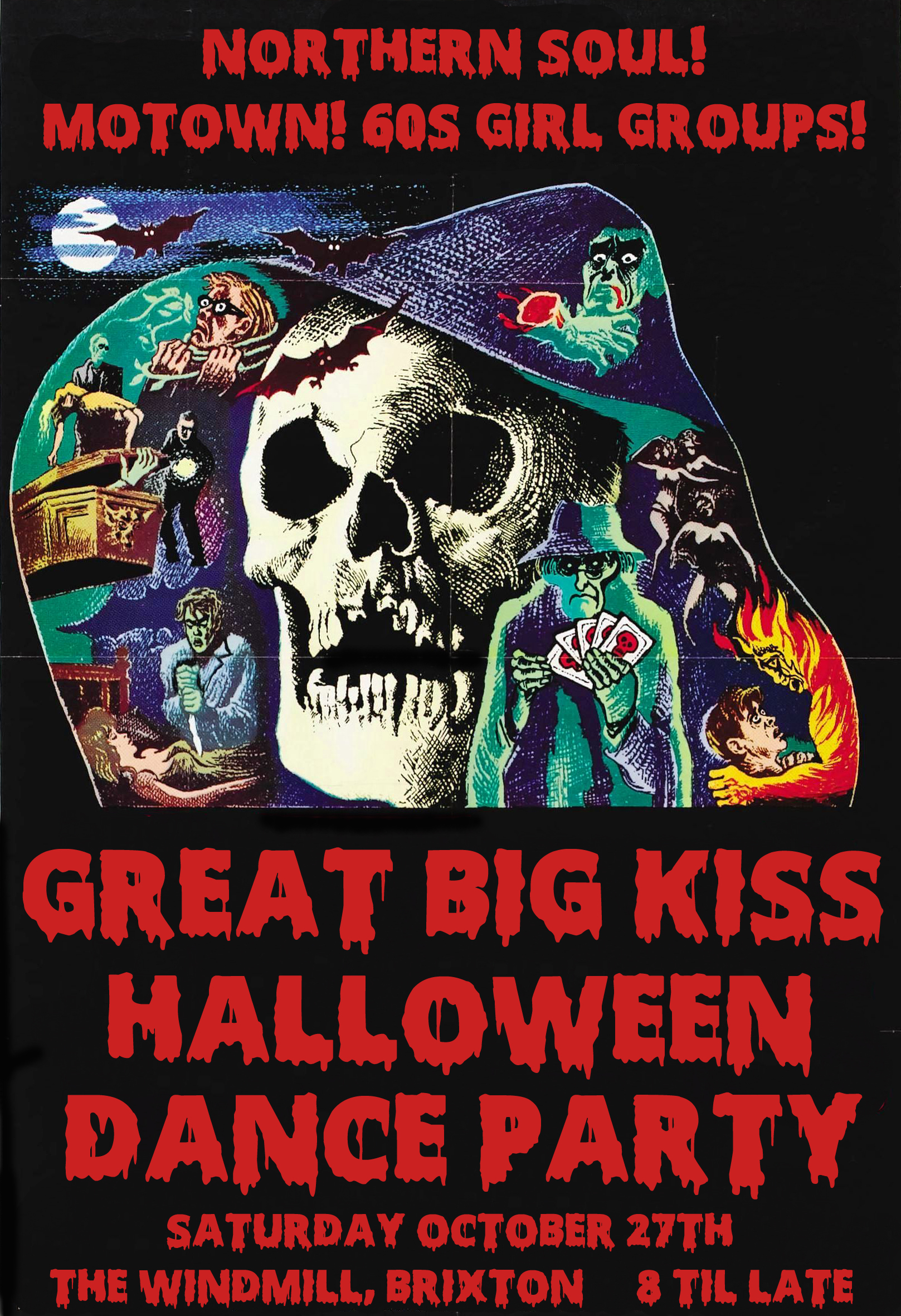 the great big kiss halloween party