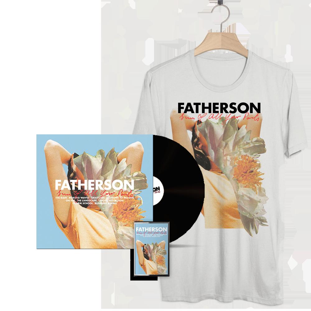 'Sum of All Your Parts' LP + Cassette + SOAYP T-Shirt - Fatherson