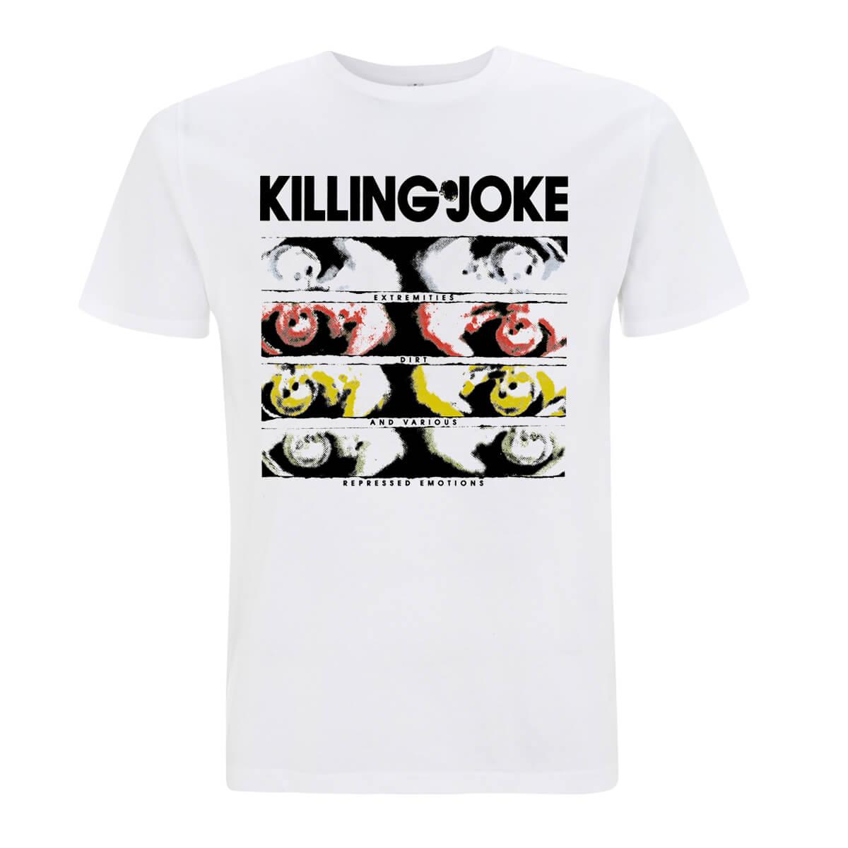 Extremities White T-Shirt - Killing Joke