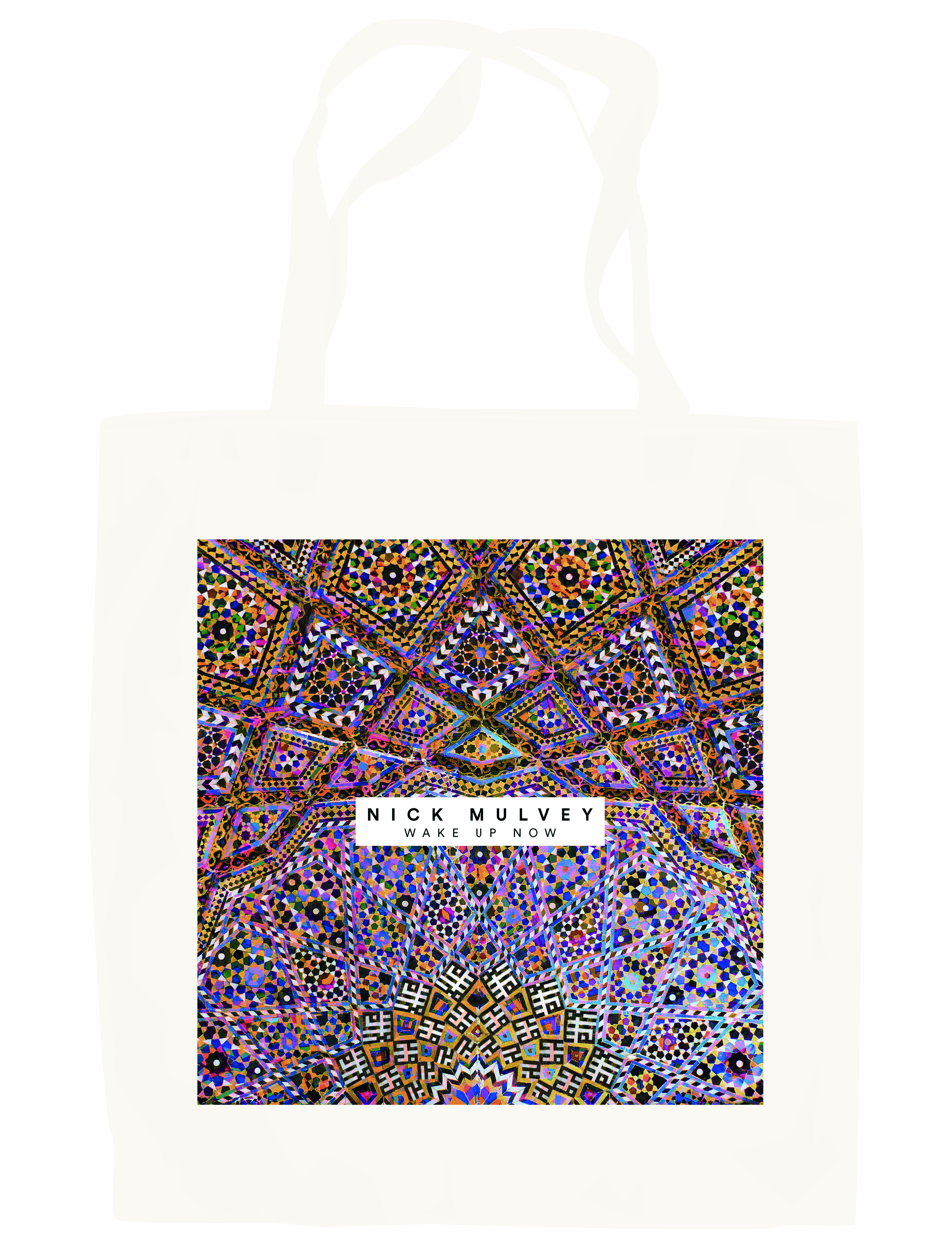 Wake Up Now - Album Cover Tote Bag - Nick Mulvey