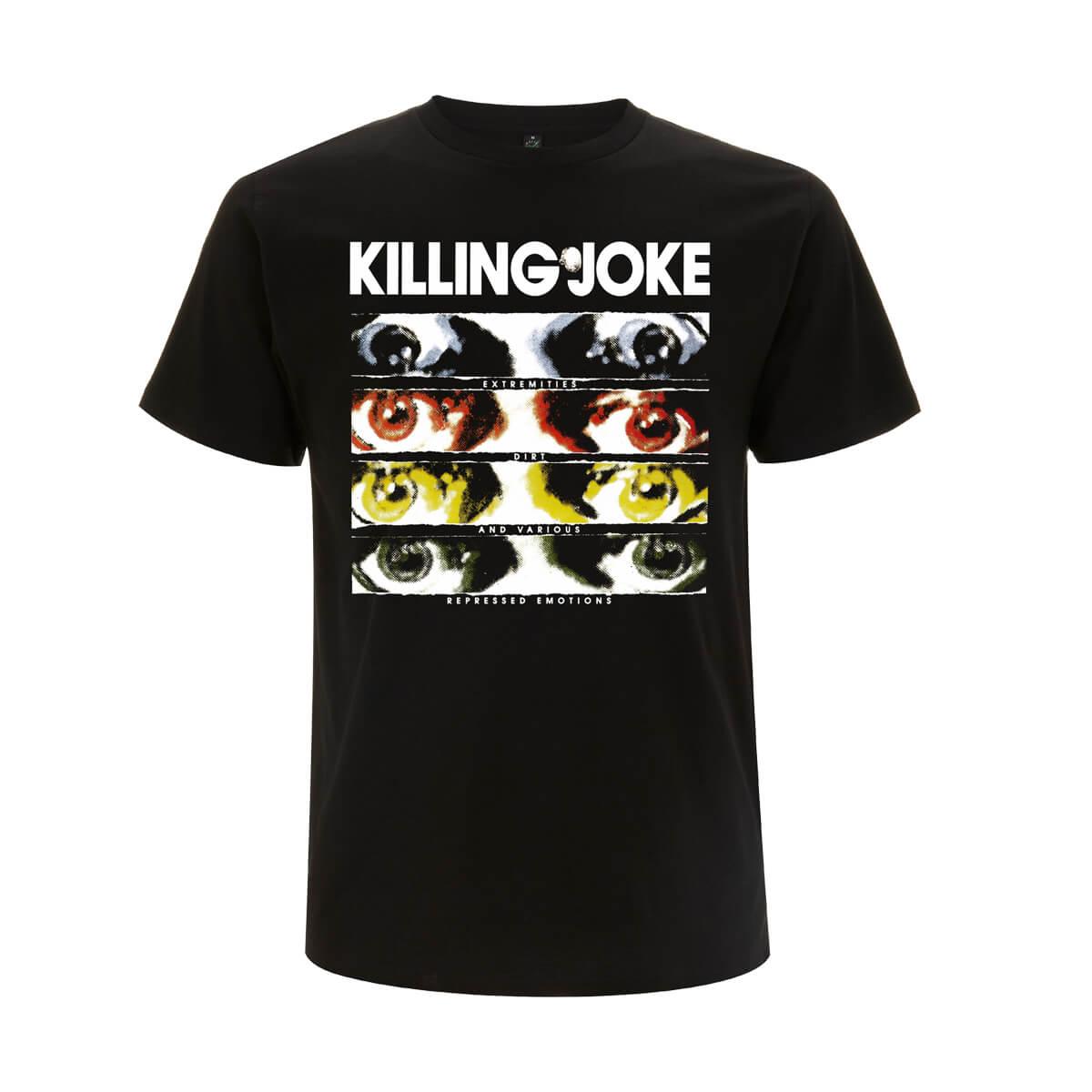 Extremities Black T-Shirt - Killing Joke