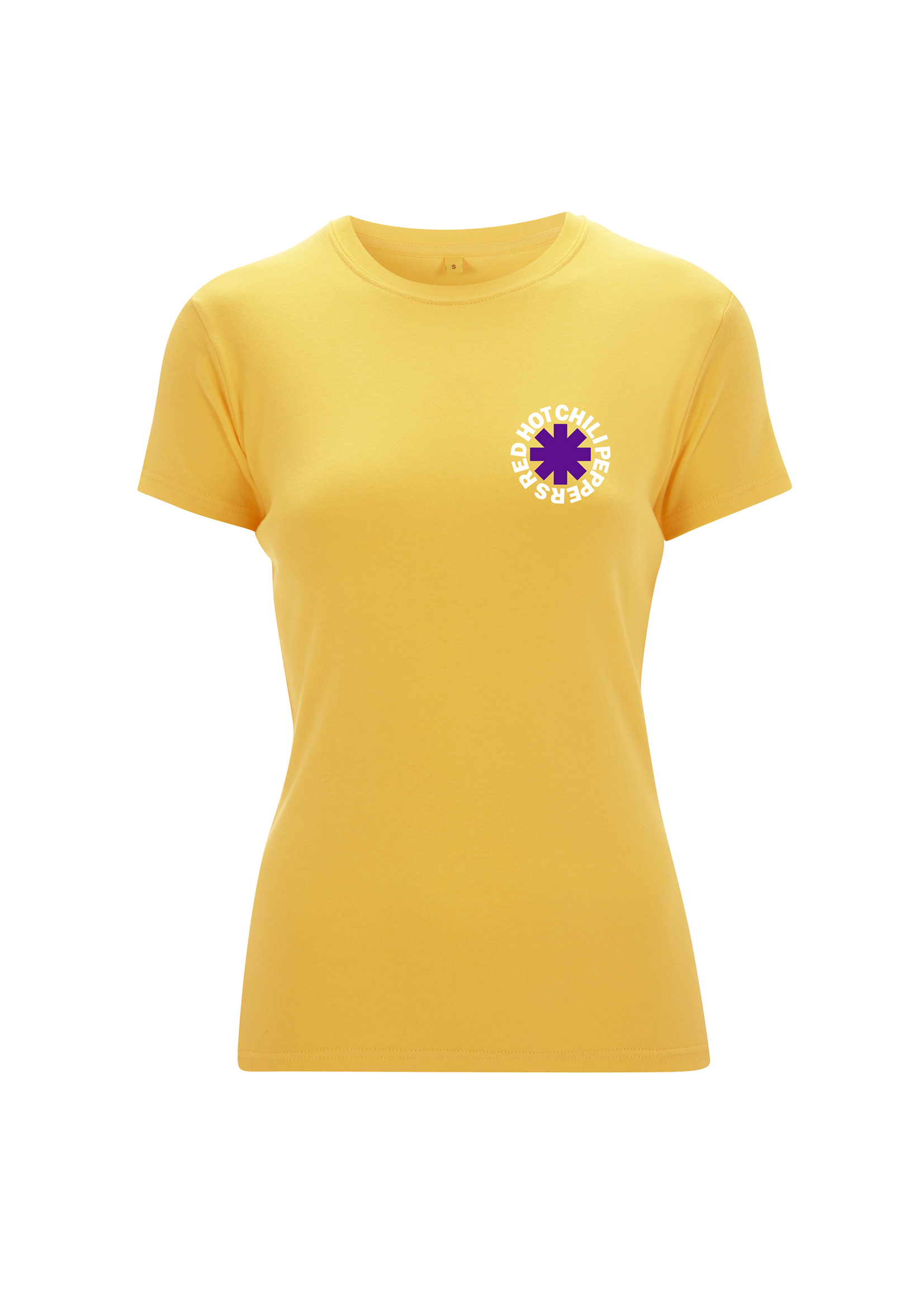 Los Chili - Yellow Ladies Tee - Red Hot Chili Peppers
