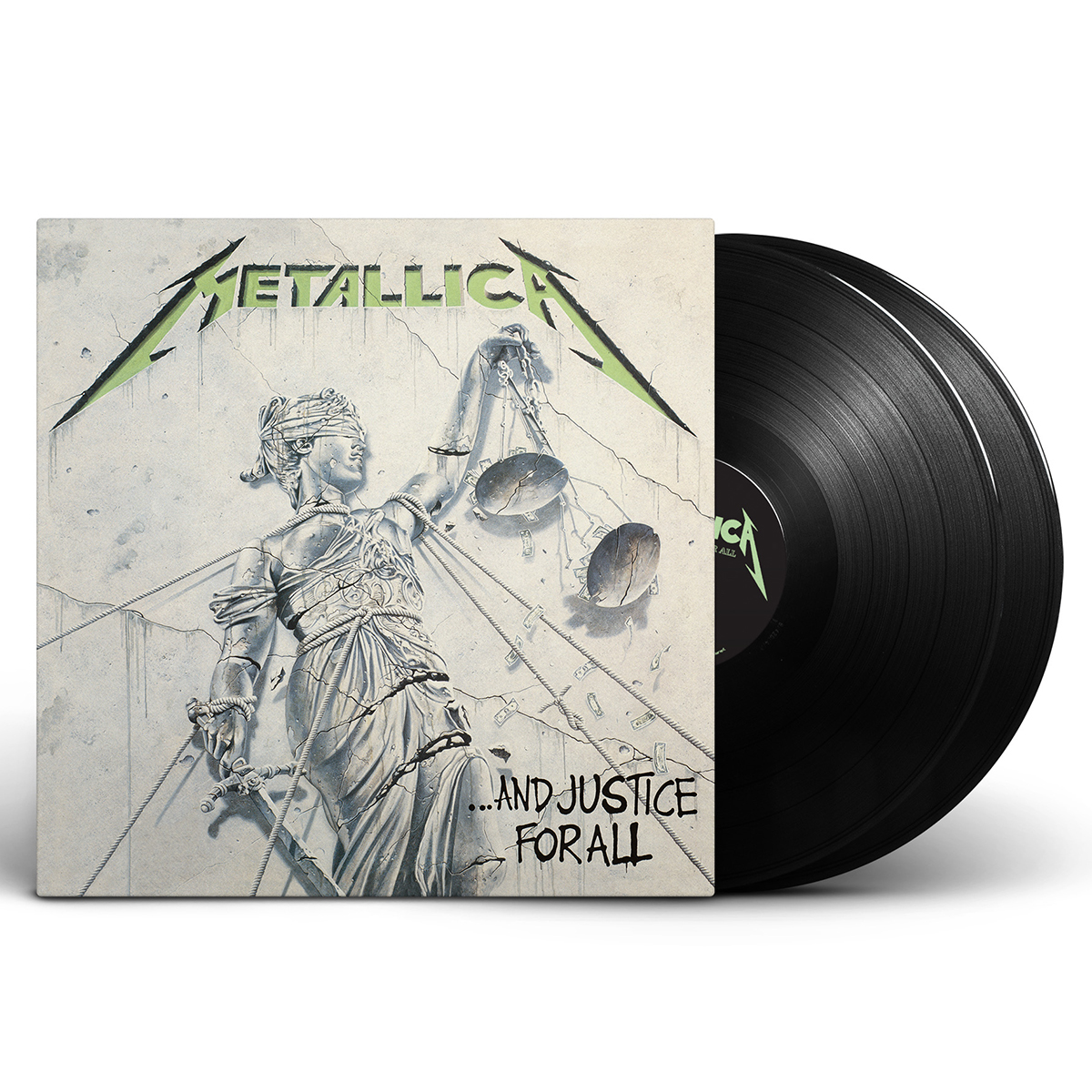 …And Justice For All (Re-Mastered) – 2LP Set - Metallica