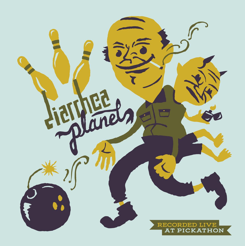 "Live at Pickathon: Diarrhea Planet / Those Darlins 12"" LP - Easy Sound Recording Company"