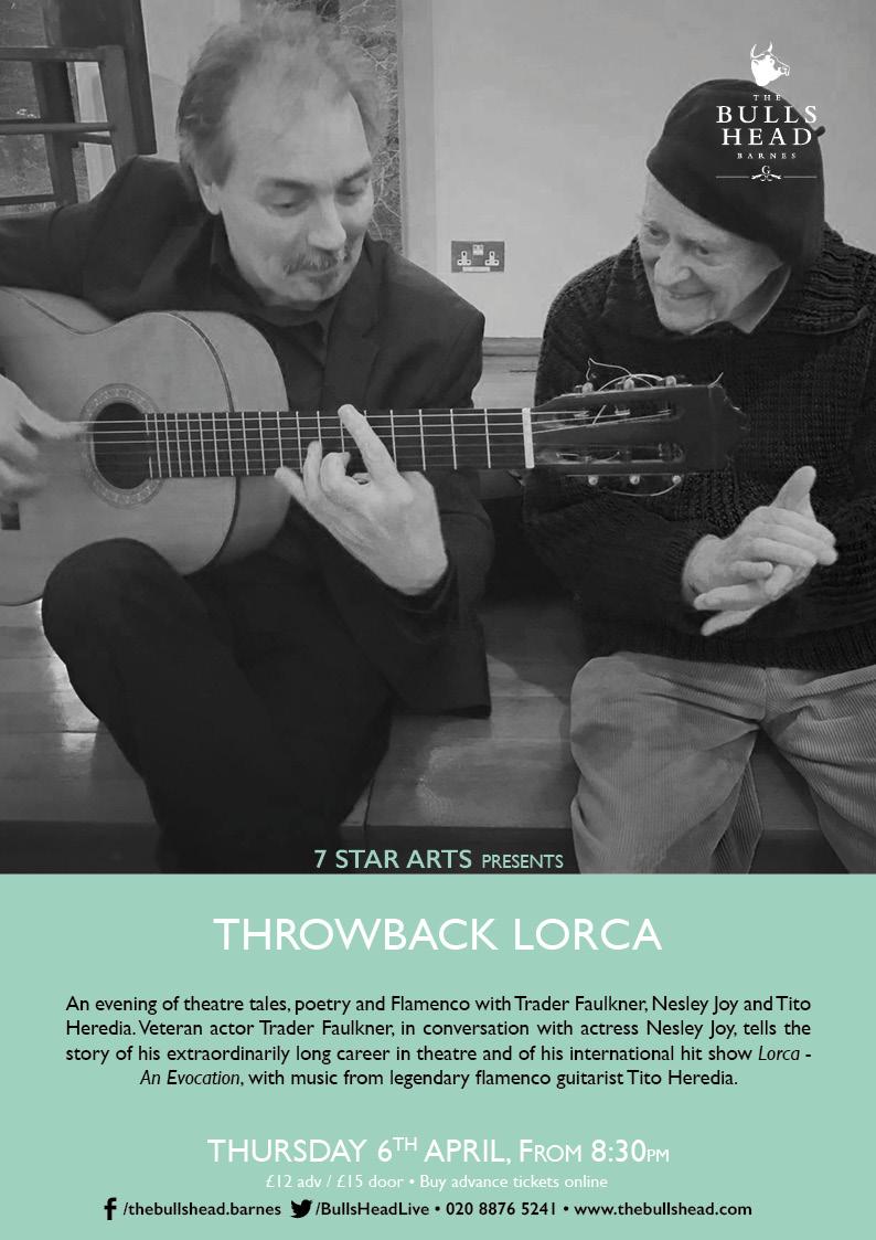 7 Star Arts presents: Throwback Lorca