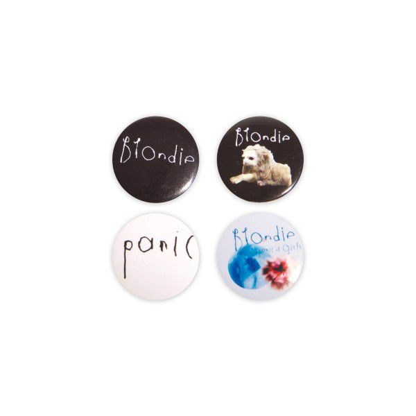 BLONDIE BADGE SET - BlondieUS