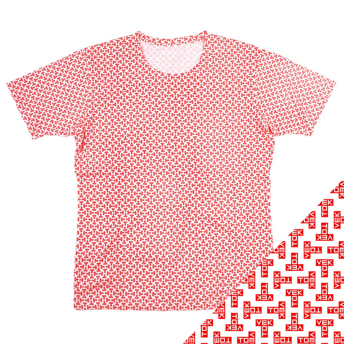 T Pattern T-shirt - Tom Vek