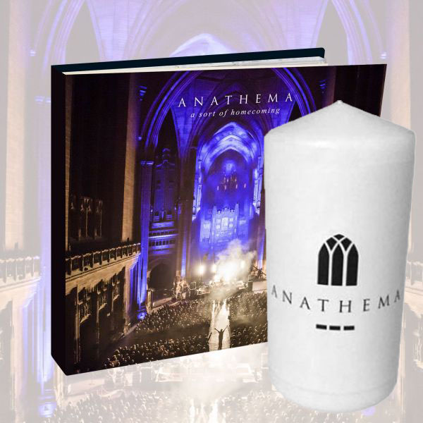 Anathema - 'A Sort of Homecoming' Mediabook and Candle Bundle - Anathema