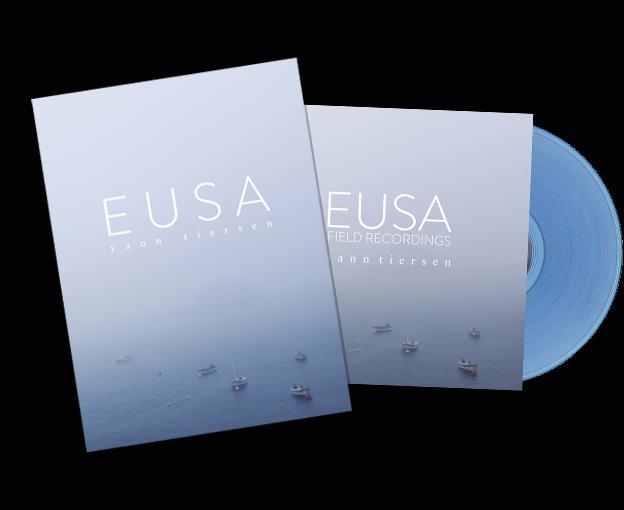 Eusa Book + Field Recordings LP - Yann Tiersen US