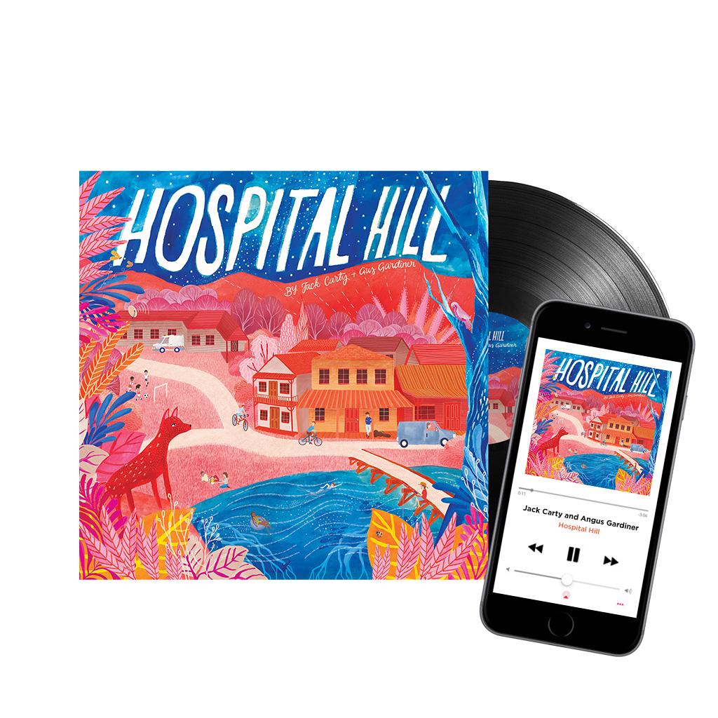 "HOSPITAL HILL - limited edition 12"" vinyl + free download - Jack Carty UK/EU"