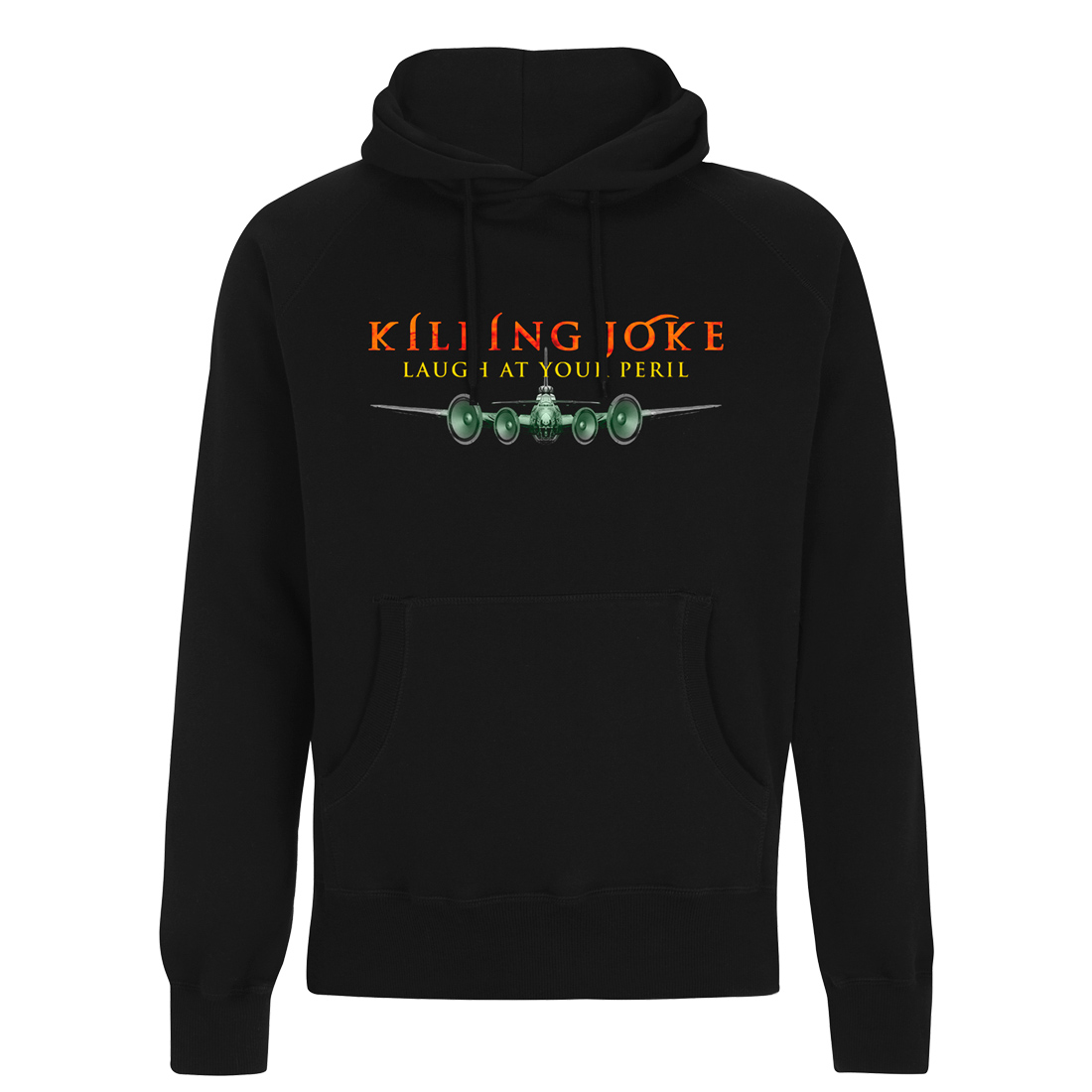 Laugh At Your Peril 2018 Tour Hoodie - Killing Joke