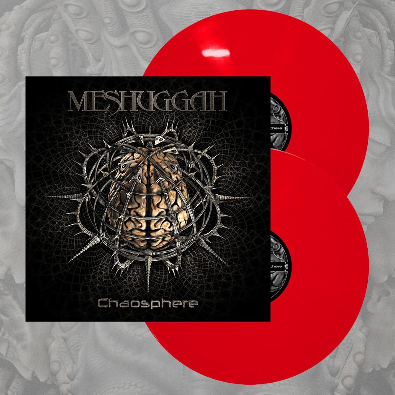 Meshuggah - 'Chaosphere' Red 2LP - Meshuggah