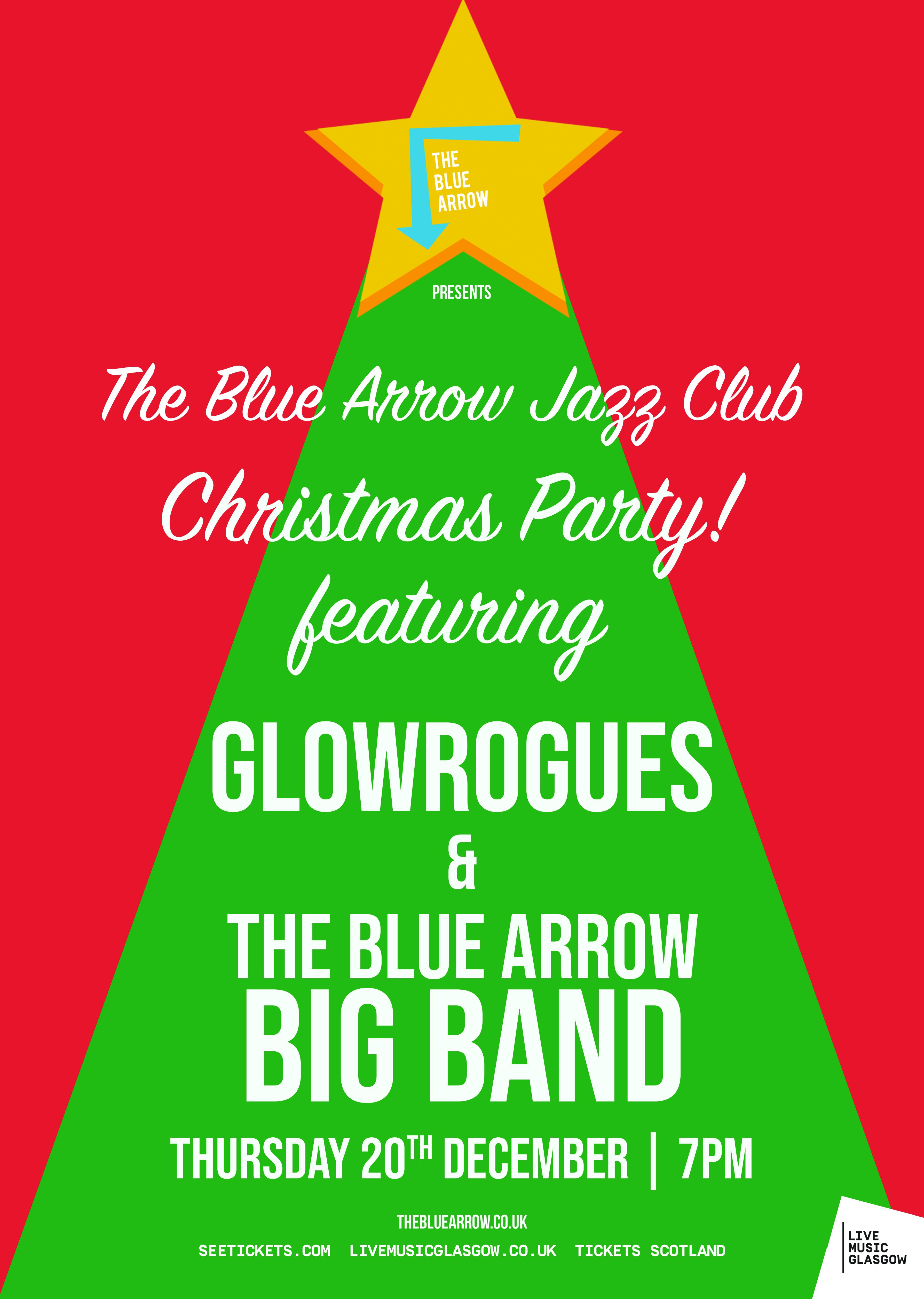 Christmas Arrow.The Blue Arrow Christmas Party At The Blue Arrow Glasgow On