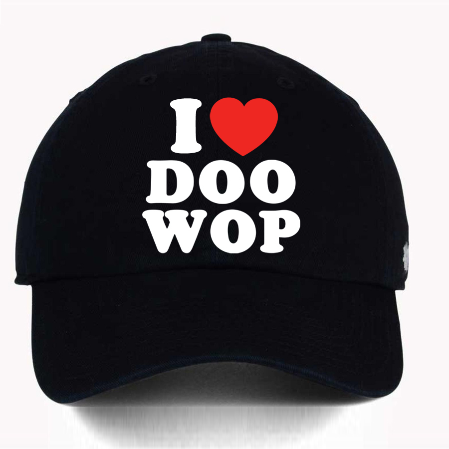 I Heart Doo Wop cap - The Doo Wop Project