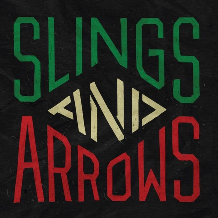 """Sling and Arrows (7"""" Single) - Fat Freddy's Drop"""