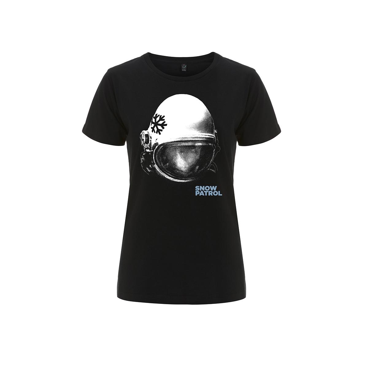 Helmet Black Ladies Tee - Snow Patrol