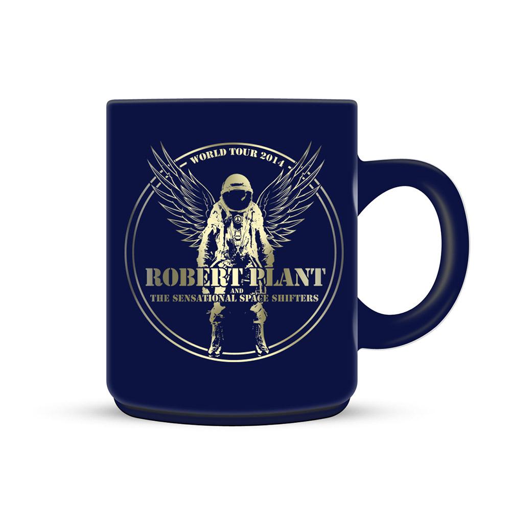 Astronaut - Blue Mug - Robert Plant