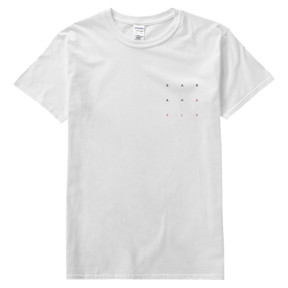 Little Black Book White Tshirt - Sarah Walk US