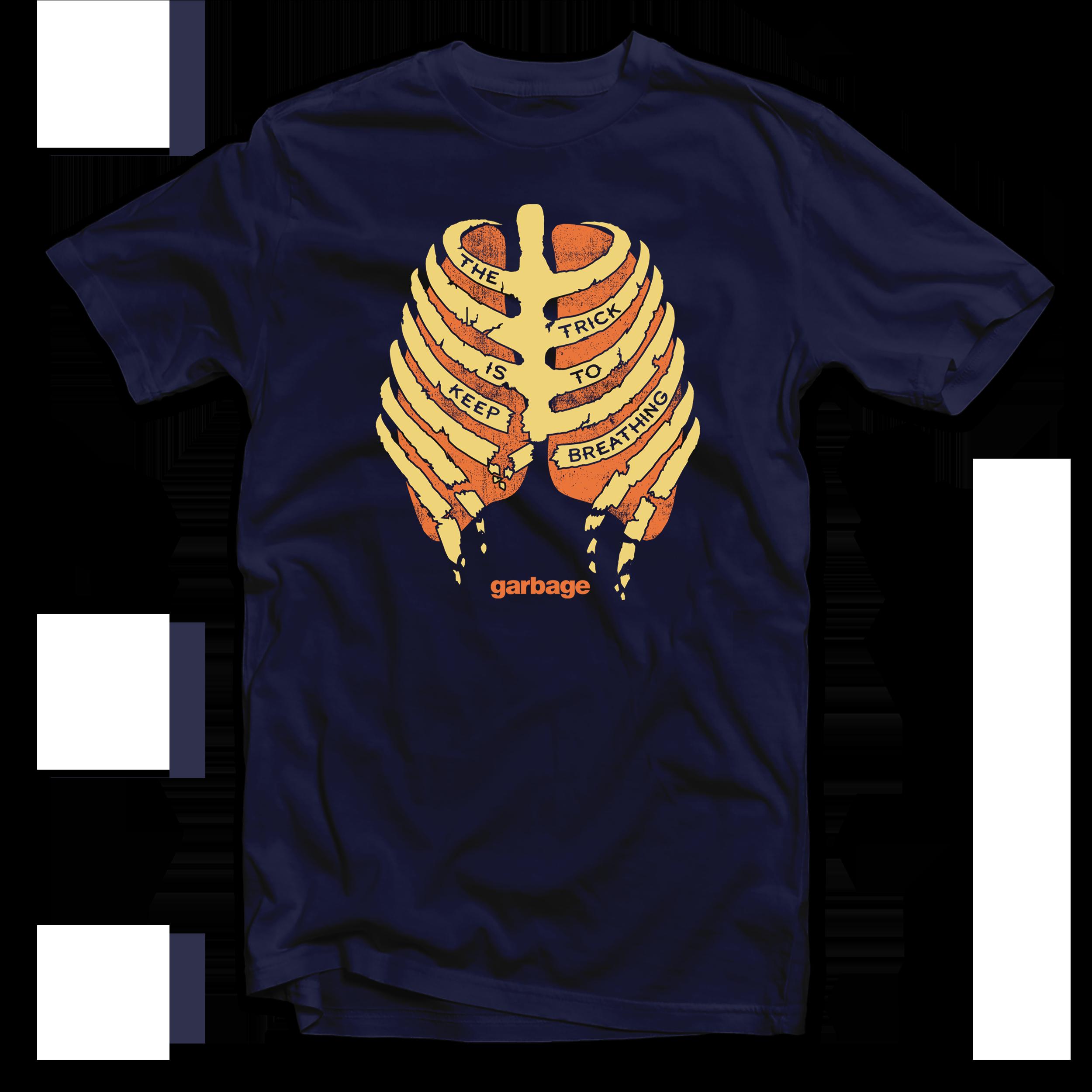 Keep Breathing T-Shirt - Garbage