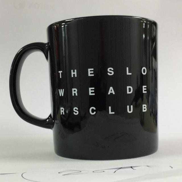 Mono Logo Mug - The Slow Readers Club