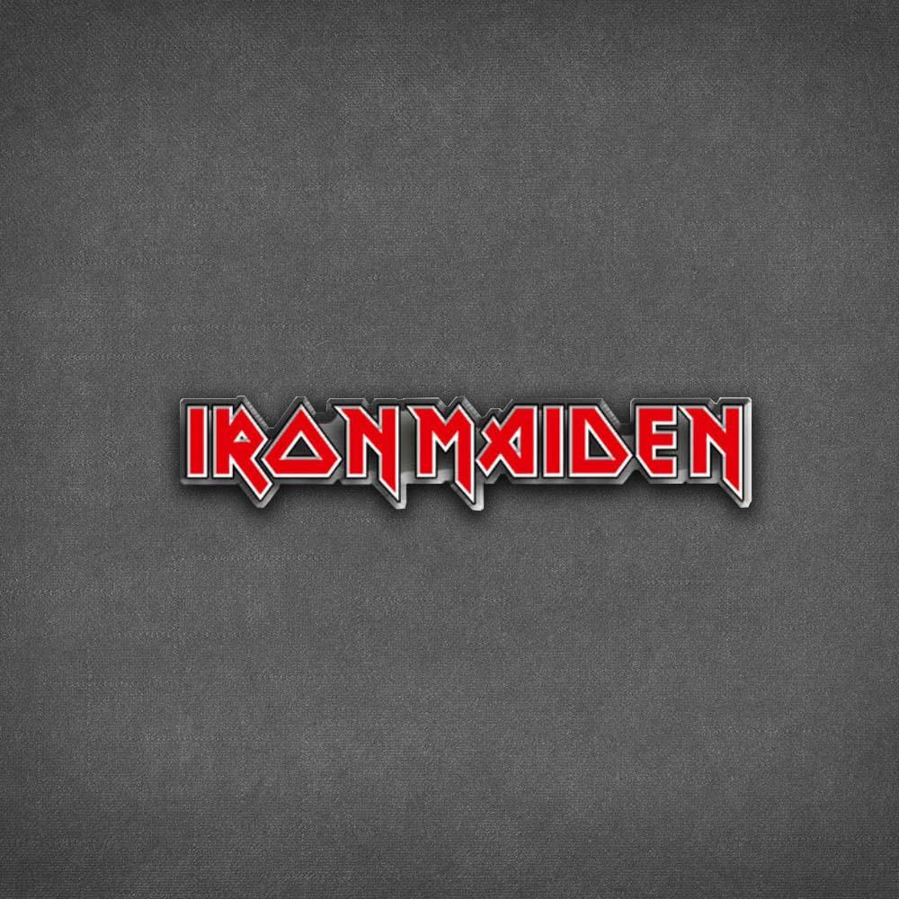 Iron Maiden Logo Pin Badge - Iron Maiden [Global UK]