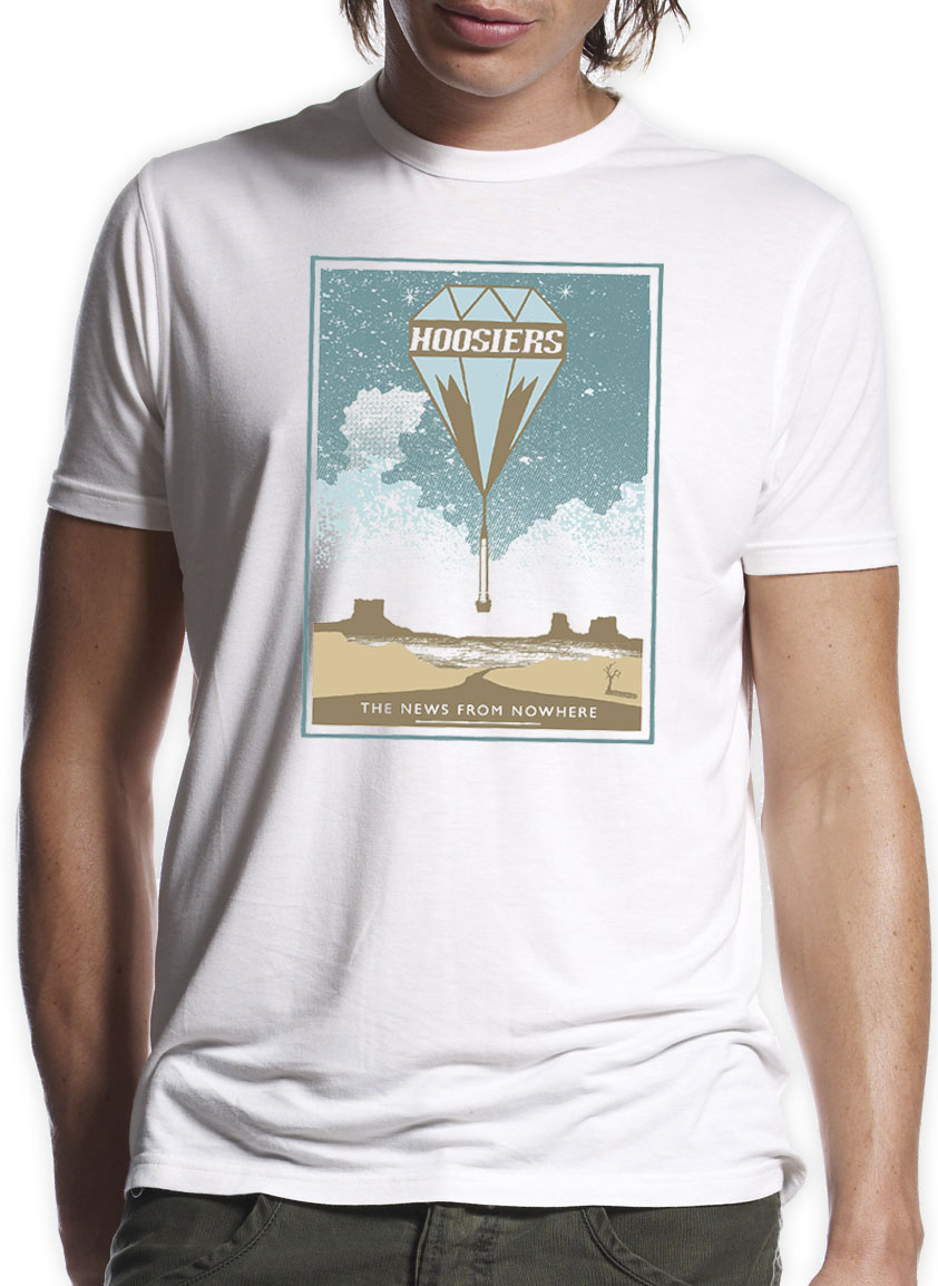 NFNW Men's and Ladies' Desert T-Shirt - The Hoosiers
