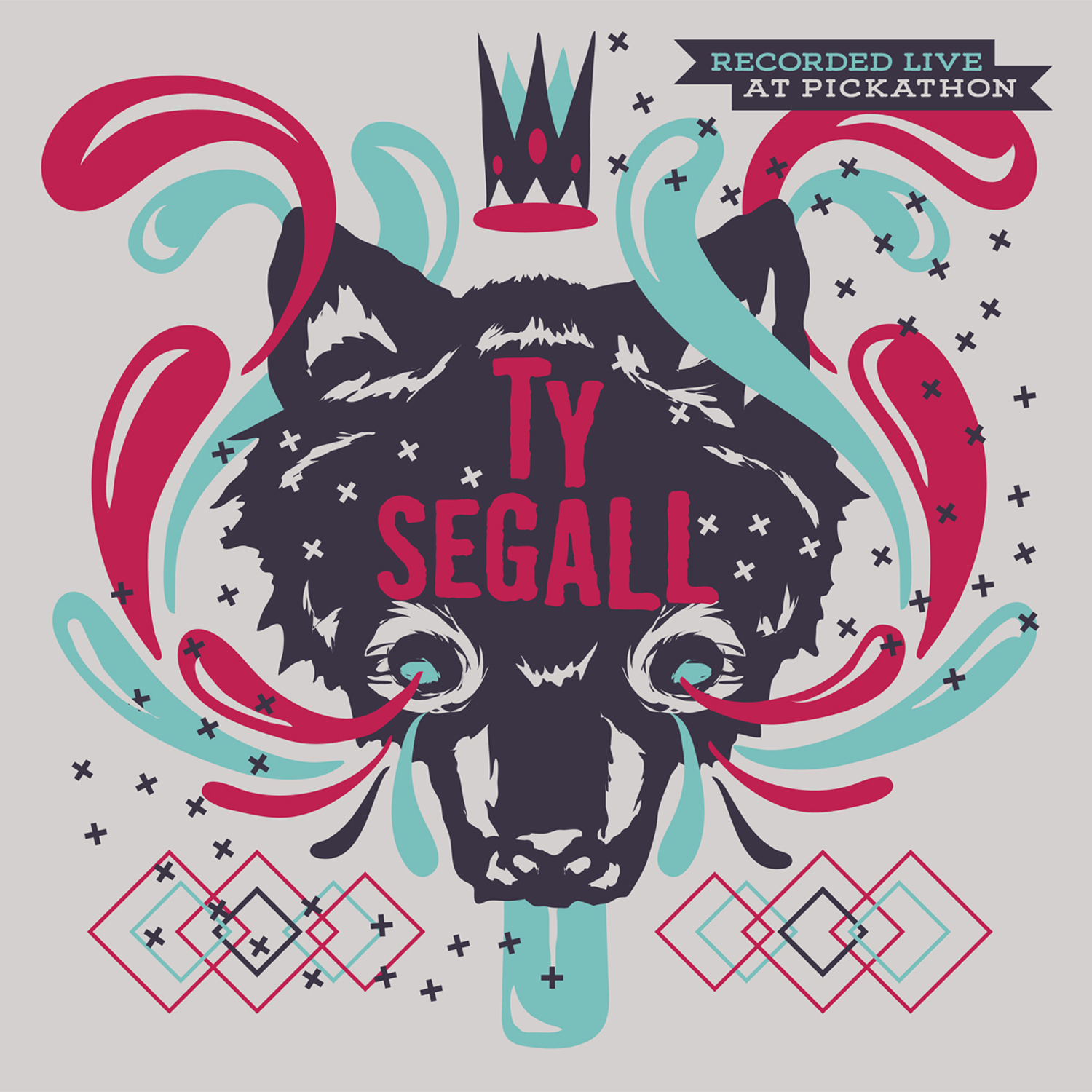 """Live at Pickathon: Ty Segall / King Tuff 12"""" LP - Easy Sound Recording Company"""