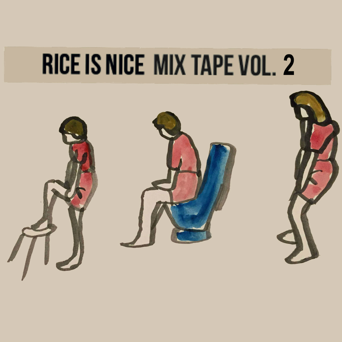 Rice Is Nice Vol. 2 Mix Tape - Rice Is Nice Records