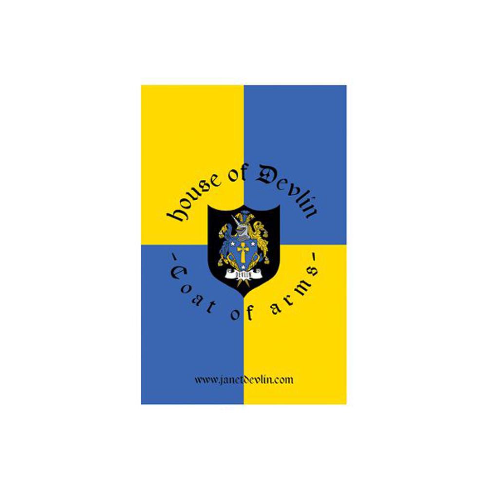 Coat Of Arms Pin Badge - Janet Devlin