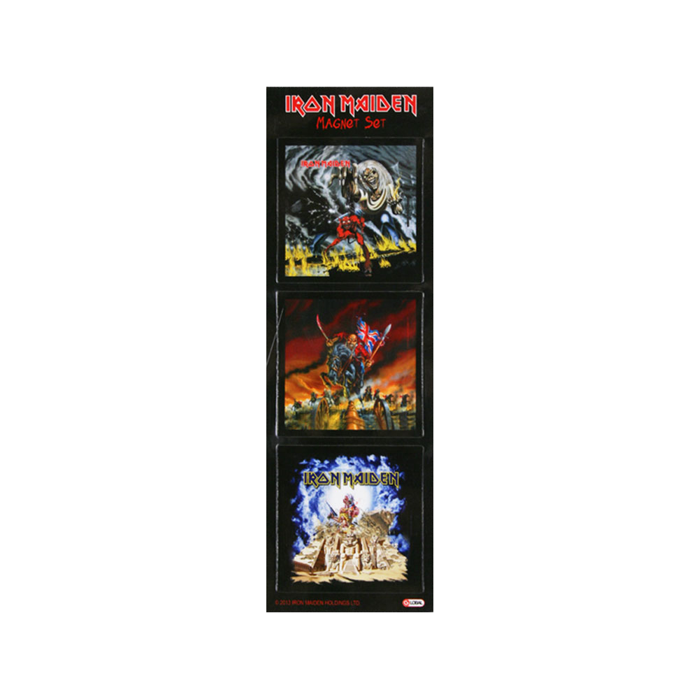 Limited Edition Magnet Set - Iron Maiden [Global USA]