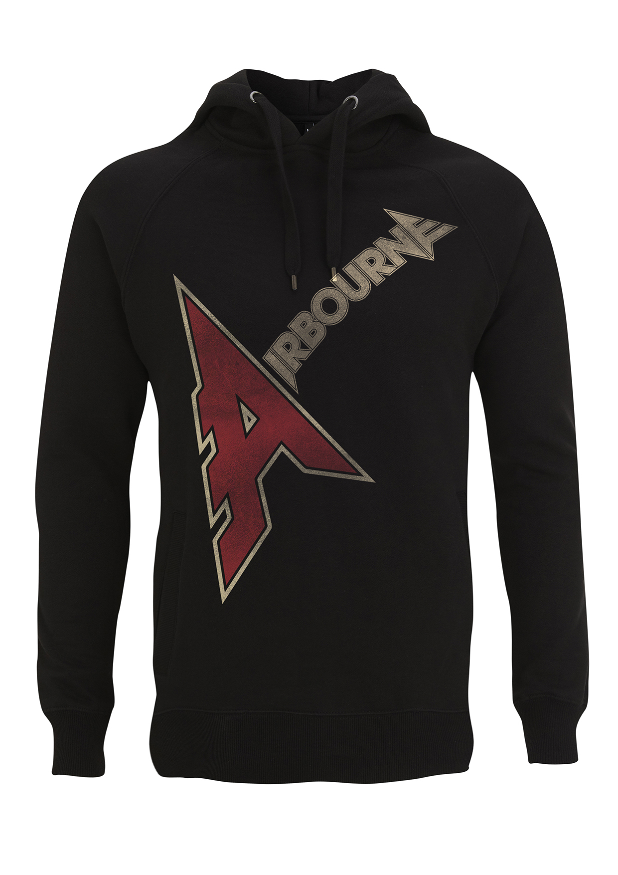 Airbourne - A Logo – Hooded Top - Airbourne