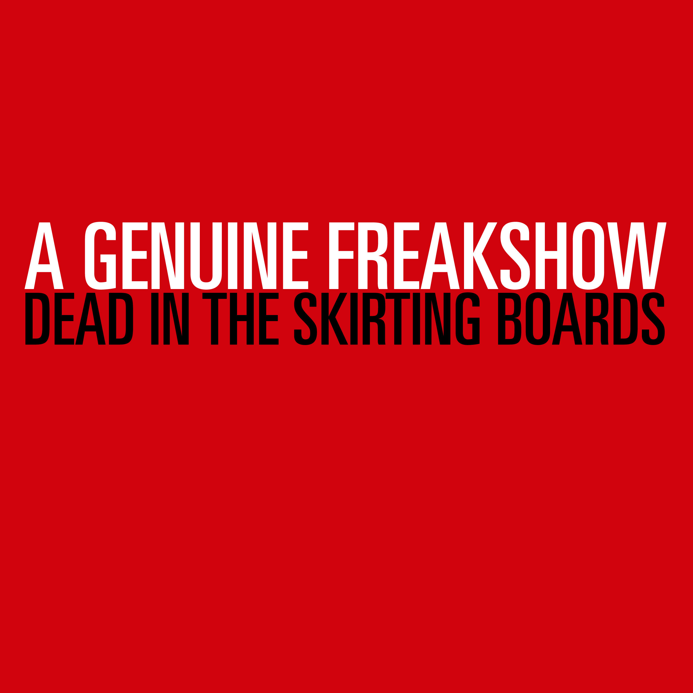 Dead In The Skirting Boards (Free Download) - A Genuine Freakshow