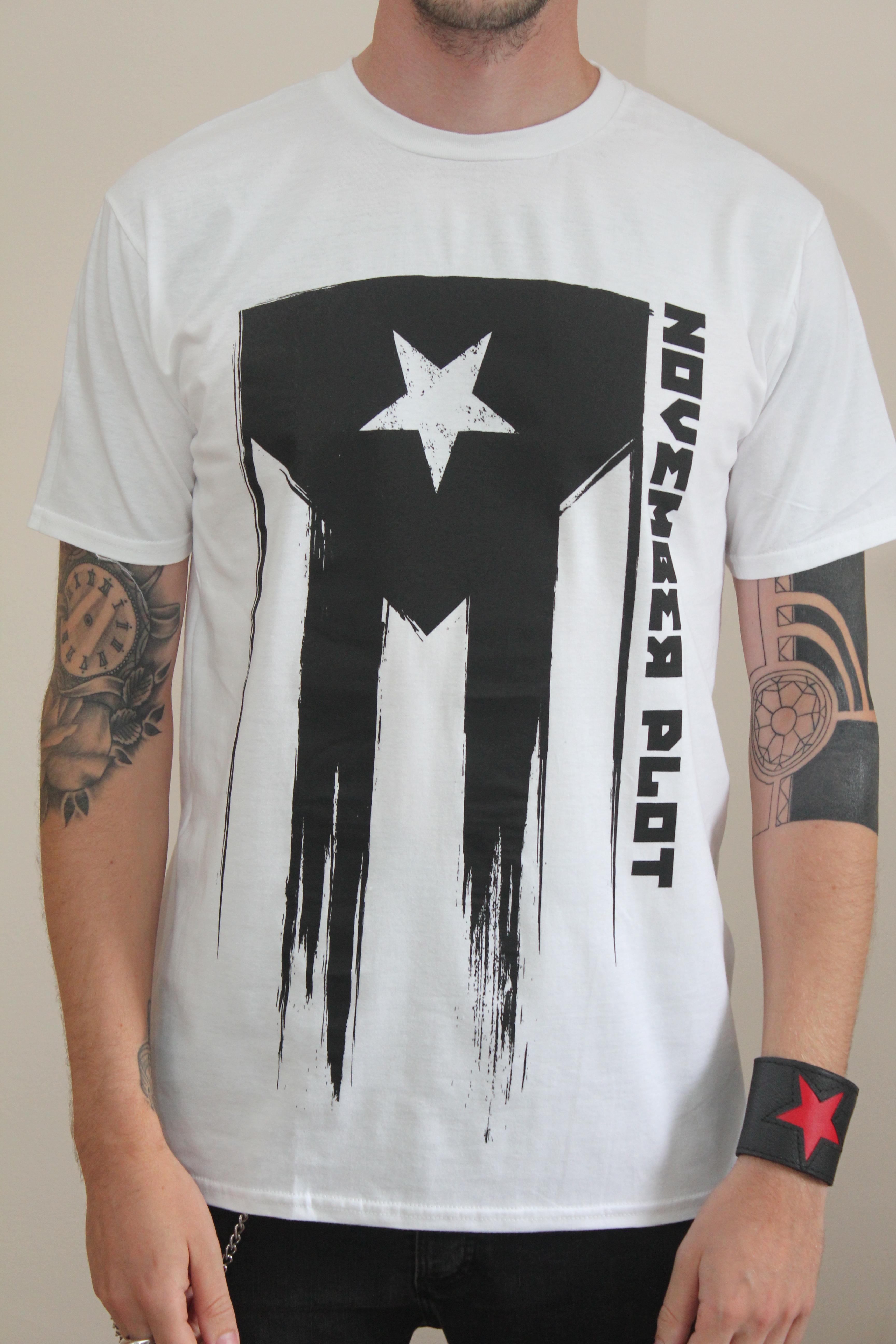 White Revolution Shirt - NOVEMBER PLOT