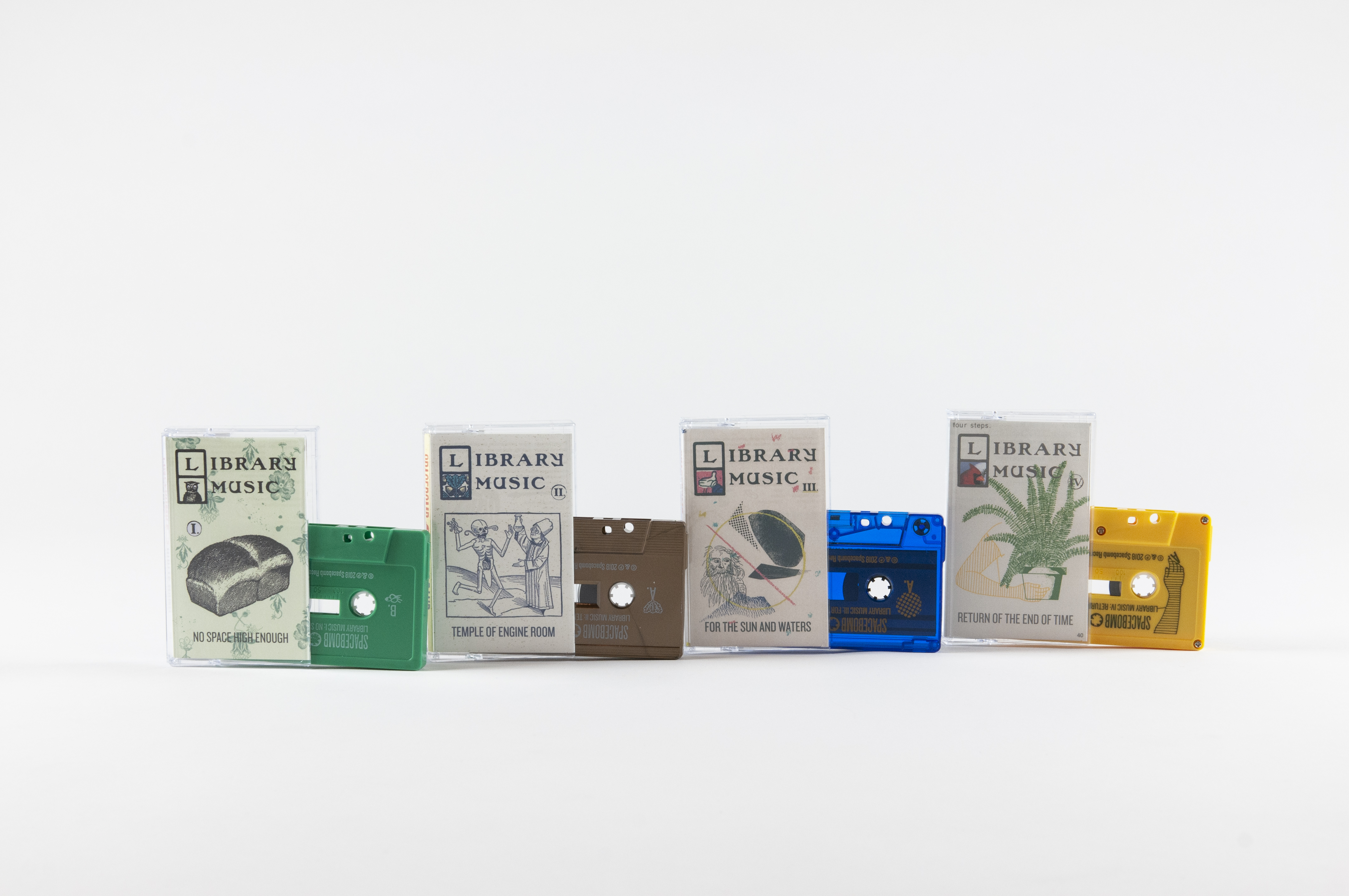 Library Music I-IV Tape Bundle - Spacebomb Records