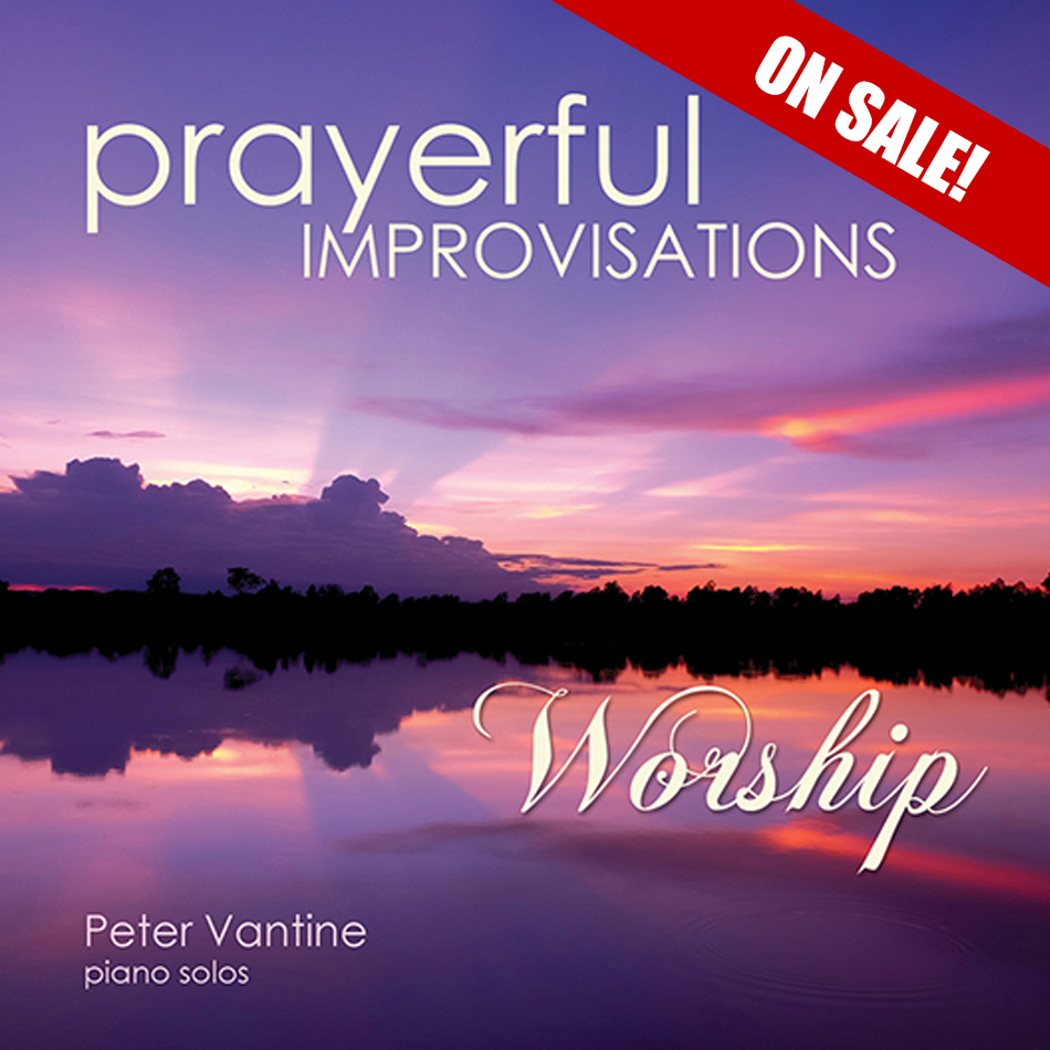 Prayerful Improvisations: Worship (CD) - Peter Vantine