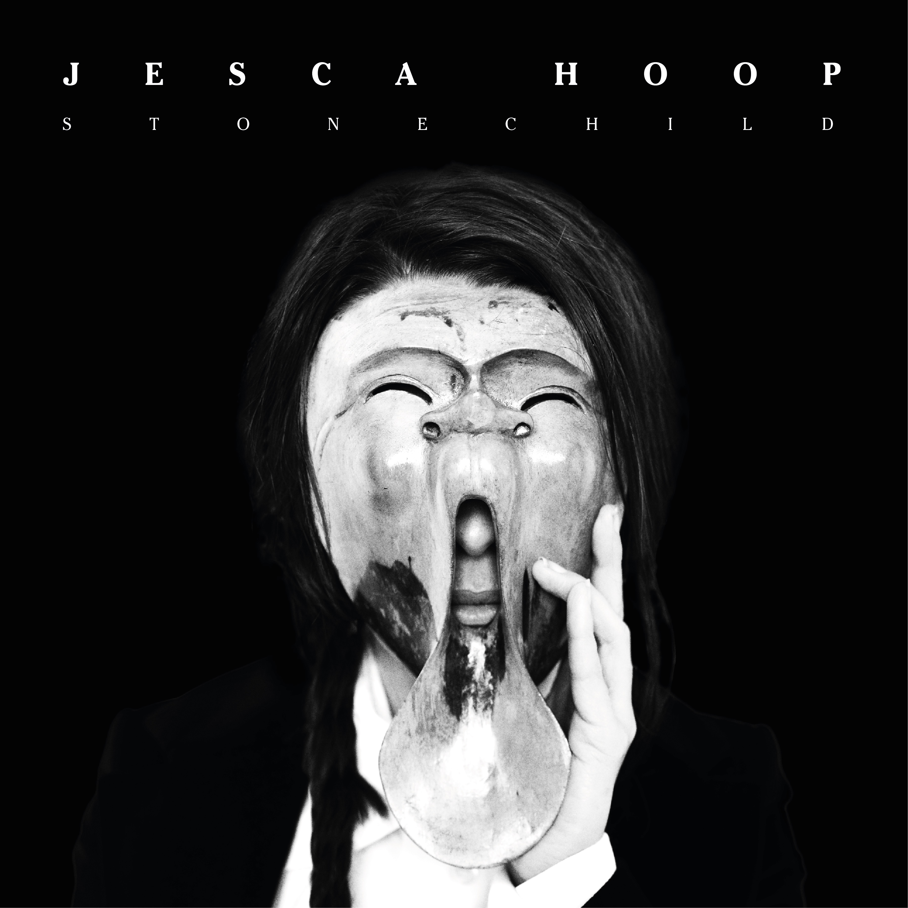 Jesca Hoop - STONECHILD - black and white marble 180g vinyl - Memphis Industries