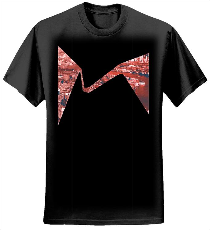 Mutations Logo T-shirt (Black) - Sunflower Records