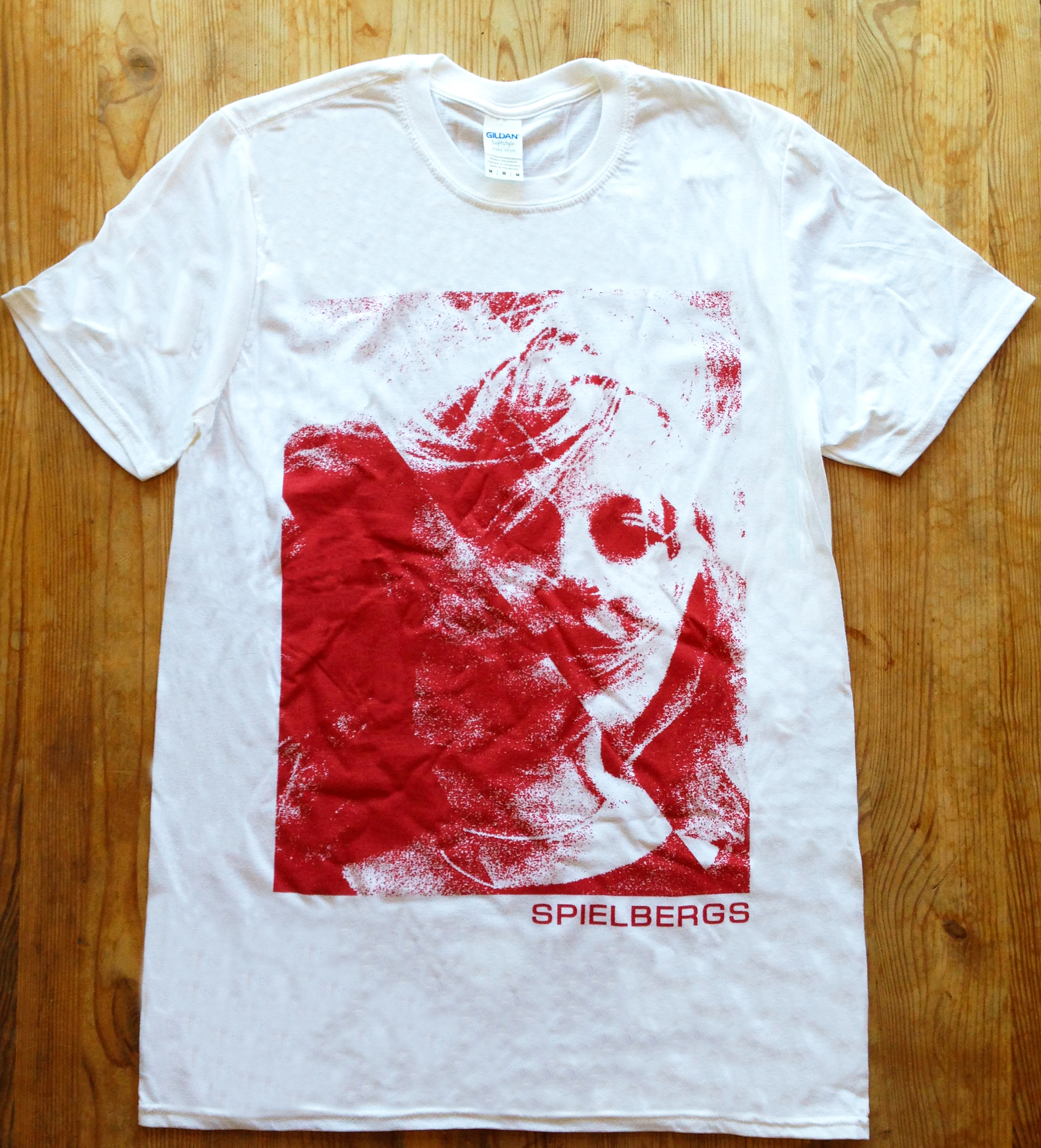 Spielbergs - T Shirt - By The Time It Gets Dark