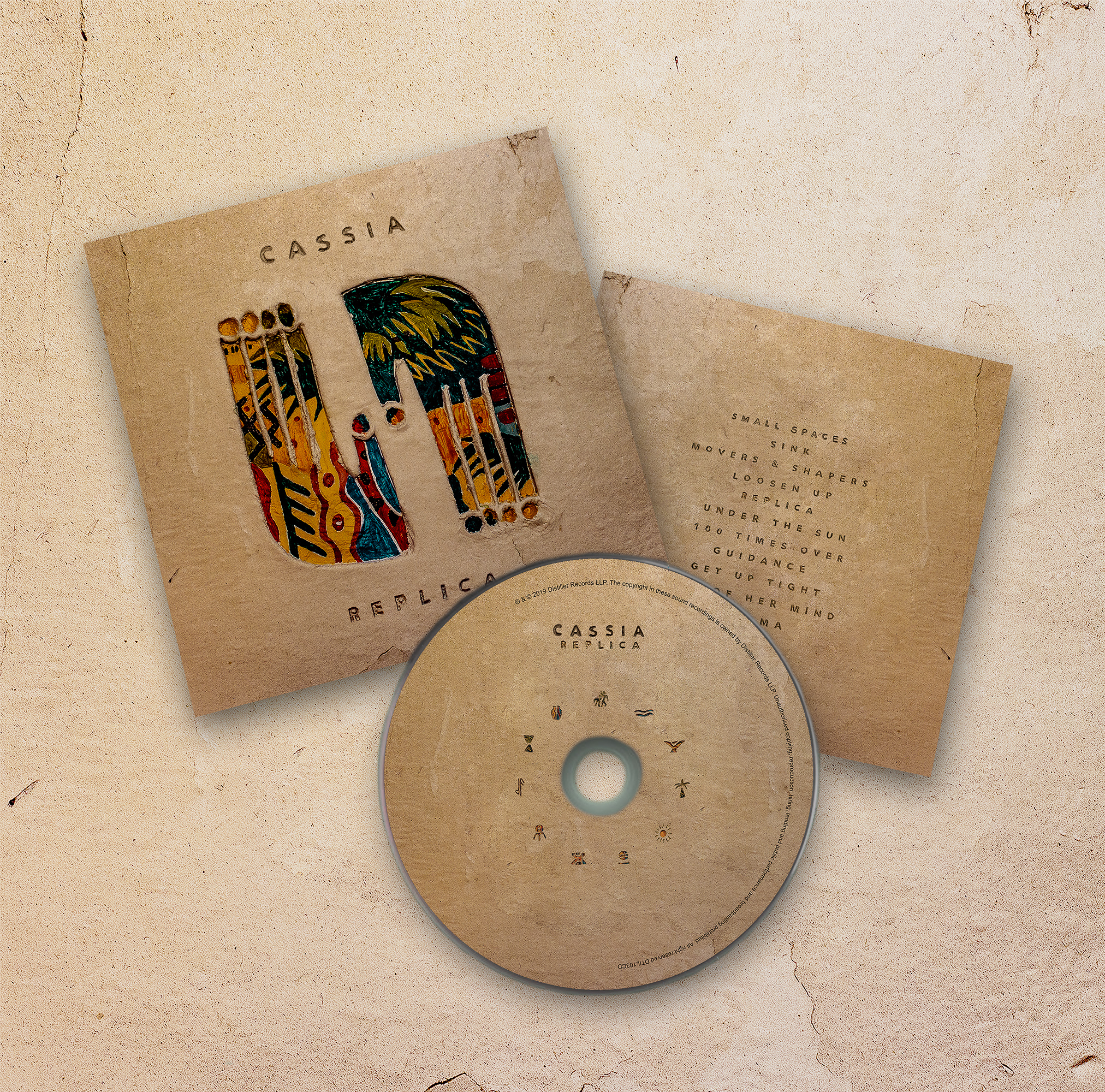 Replica - CD + signed picture - Cassia