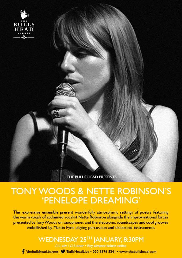 Tony Woods & Nette Robinson's 'Penelope Dreaming'
