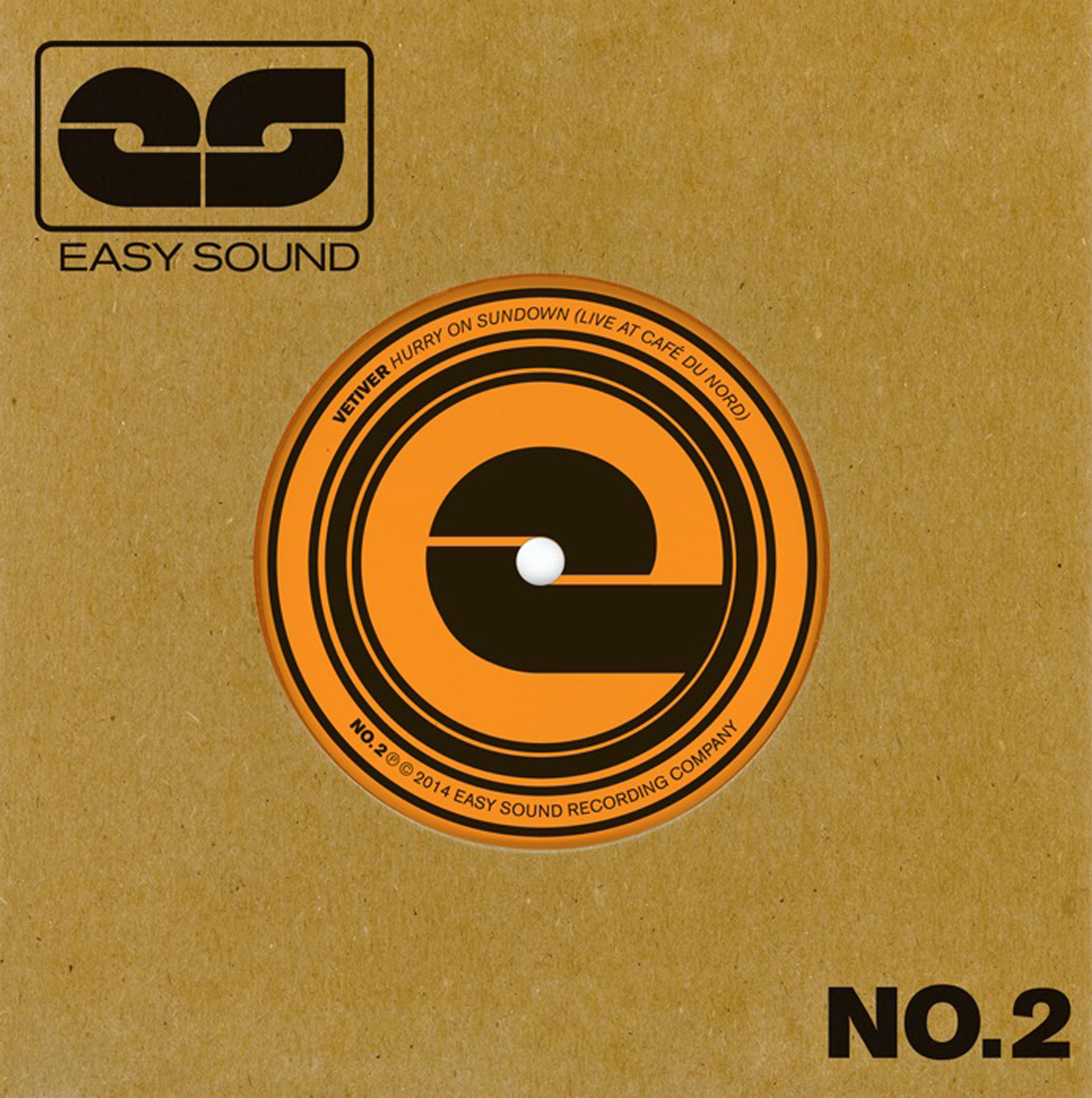 """Vetiver / EDJ - Easy Sound Singles 7"""" - Easy Sound Recording Company"""