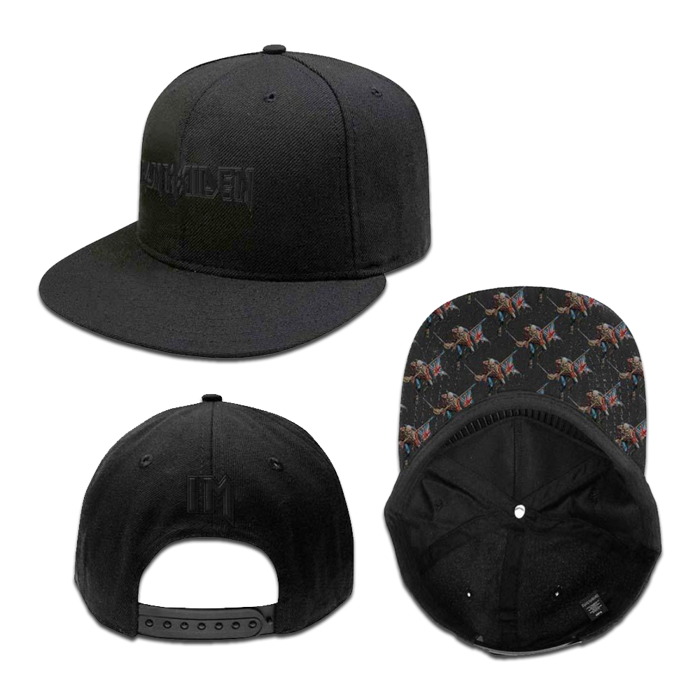 Unisex Snapback Cap Logo Trooper - Iron Maiden [Global USA]