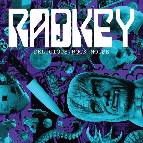 """Delicious Rock Noise 12"""" Vinyl - Radkey"""
