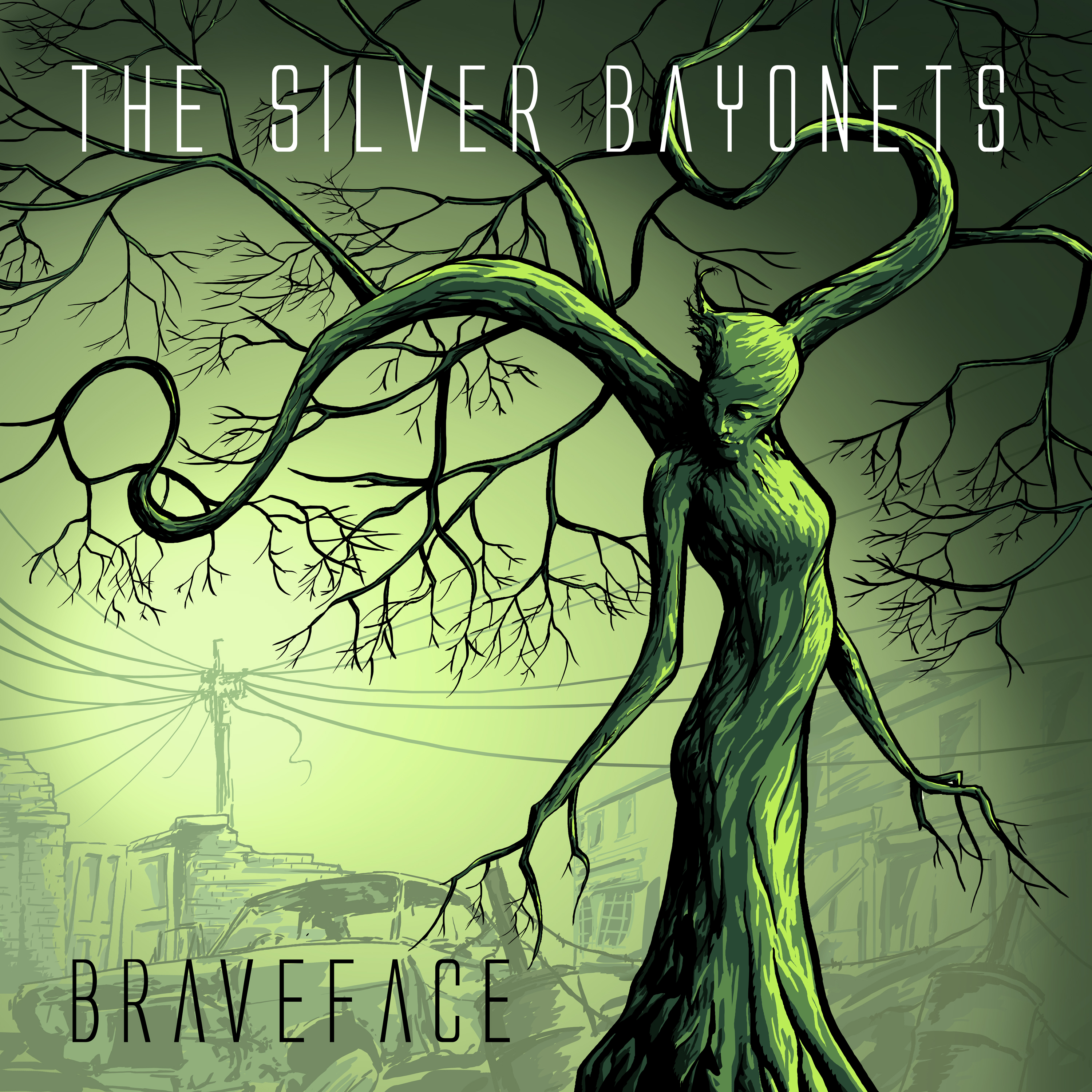 """""""BRAVEFACE"""" (CD Album, 2018) - The Silver Bayonets"""